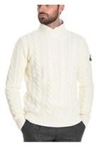 Roy Rogers Roy Roger's Men's White Wool Sweater.