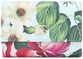 Dolce & Gabbana Floral leather wallet