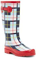 Godiva Plaid Rain Boot