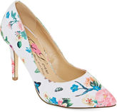 FIRST LOVE BY PENNY LOVES KENNY First Love Paris Floral Pumps - Wide Width