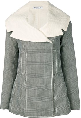 Christian Dior Pre-Owned reversible concealed fastening jacket