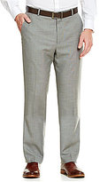 Perry Ellis Flat-Front Solid Pants