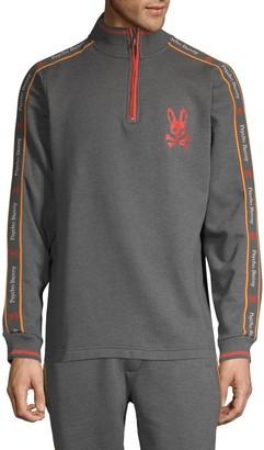 Rob-ert Robert Godley Logo Cotton-Blend Sweatshirt