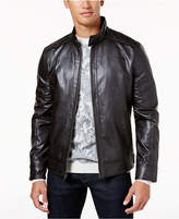 Tasso Elba Men's Faux-Leather Jacket, Created for Macy's