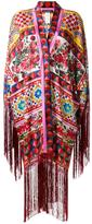 Dolce & Gabbana Mambo print kaftan dress - women - Silk/Acetate - 40