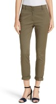 Veronica Beard Women's Coach Cuffed Pants
