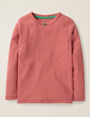 Boden Long-Sleeved Rosebud T-Shirt