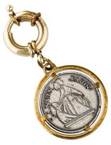 Lanvin Logo Medallion Bag Charm