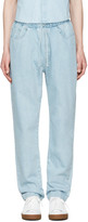Sunnei Blue Denim Lounge Jeans