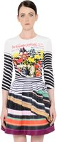 Mary Katrantzou Floral Printed Silk Cady Top