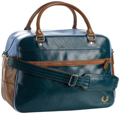 Fred Perry Men's Classic Overnight Bag