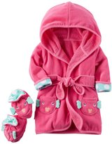 Carter's Robe & Bootie Set (Baby) - Puffer Fish - One Size