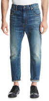 Vince Relaxed Straight-Leg Jeans, Blue