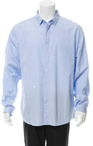 Christian Dior Embroidered Button-Up Shirt