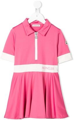 Moncler Enfant Short Sleeve Polo Dress