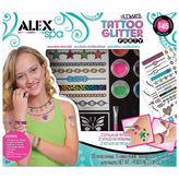 Alex Spa Ultimate Glitter Tattoo Party Beauty Toy