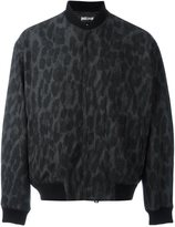 Just Cavalli animalier print bomber jacket