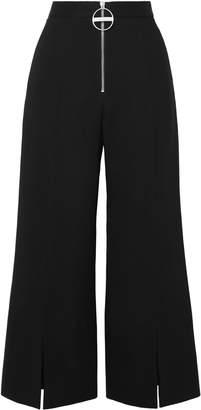 Givenchy Wool-crepe Flared Pants