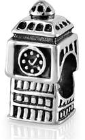 925Collections 925 Sterling Silver London Big Ben Clock Tower Bead Charm Fit Major Brand Bracelet