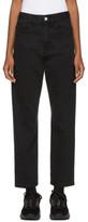 Raf Simons Black Low Jeans