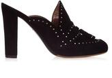 Tabitha Simmons Diana stud-embellished slip-on mules