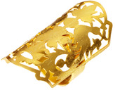 Kasturjewels 22ct Gold Plated Adjustable Hand Crafted Finger Ring