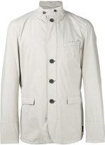 Herno buttoned jacket - men - Polyester/Fluorofibra - 54