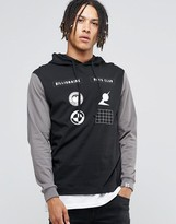 Billionaire Boys Club Hooded Long Sleeve T-Shirt