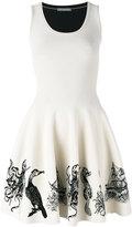 Alexander McQueen sea creature embroidered dress - women - Polyamide/Polyester/Spandex/Elastane/Viscose - M