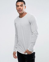 Minimum Jibran Long Sleeve Top Stripe Breton