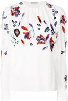 Emilio Pucci floral embellished top