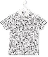 Dolce & Gabbana 'Musical' polo shirt - kids - Cotton - 2 yrs