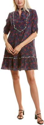 Nanette Lepore Flyin' High Silk Shift Dress