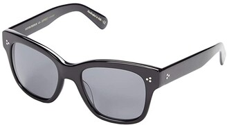 Oliver Peoples Melery (Black/Grey Polarized) Fashion Sunglasses