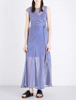 Sportmax Rito silk-chiffon maxi dress