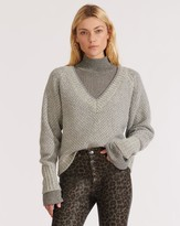 Veronica Beard Mirnie V-Neck Sweater