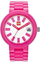 Lego Brick watch, pink