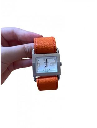 Hermã ̈S HermAs Cape Cod TGM Orange Steel Watches