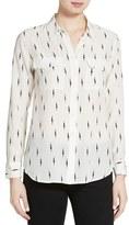 Equipment Women's Kate Moss For 'Slim Signature' Print Silk Shirt
