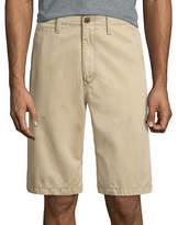 Arizona 12 Inseam Longboard Flat-Front Cotton Shorts