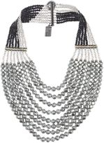 Max Mara Weekend Ginnico multistrand pearl necklace