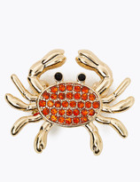 Marks and Spencer Crab Sparkle Brooch