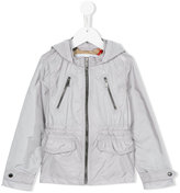 Burberry hooded jacket - kids - Polyamide/polyester - 4 yrs
