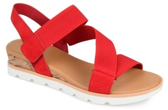 Journee Collection Sammi Wedge Sandal