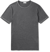 Sunspel - Slim-fit Contrast-tipped Cotton-jersey T-shirt