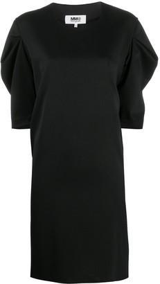 MM6 MAISON MARGIELA Puff-Sleeve Knee-Length Dress