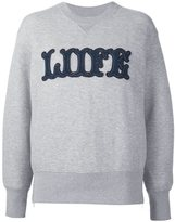 Sacai Liife sweatshirt - women - Cotton/Nylon - 3