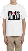 Hera-Boom Youth's Toronto Raptors Basketball WE THE NORTH Skyline T-shirts