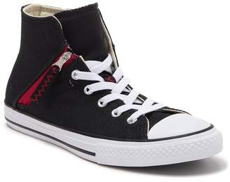 Converse Chuck Taylor(R) All-Star Pull-Zip High Top Sneaker (Toddler, Little Kid, & Big Kid)