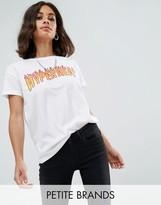 Noisy May Petite Logo T-Shirt